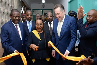 MTN Foundation offers a multimedia centre to Government Technical High School