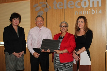 Telecom Namibia donates computers to Gibeon School
