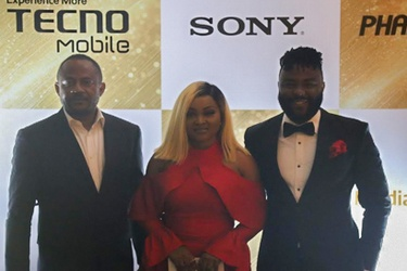 Chidi Okonkwo, Mercy Aigbe Gentry and VJ Adams