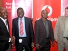 Olu Akinkugbe, Cisco Systems; Emmanuel Adeogun, VMWare West Africa; Tosin Amusa, Cisco Systems and Andre Gouws, Vodacom Business