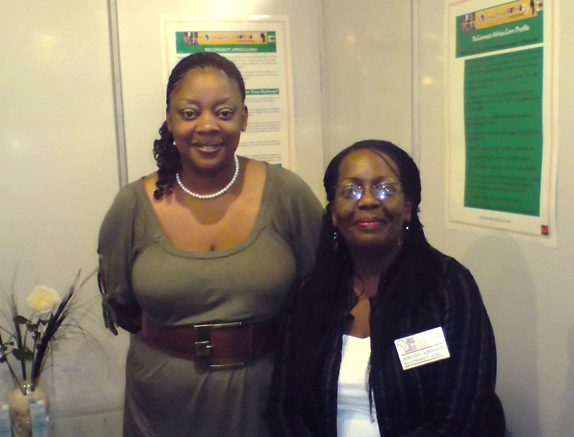 Dorothy Adebanjo (right) and an unidentified colleague