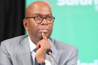 Safaricom CEO Bob Collymore during the firm's AGM in Nairobi