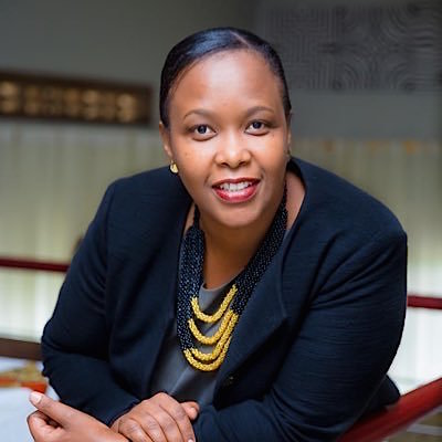 Clare Akamanzi, the Chief Executive Officer, Rwanda Development Board (RDB)