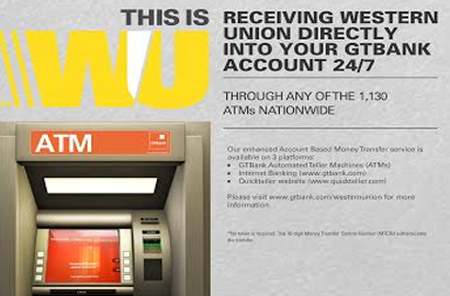 GTBank introduces Western union funds via ATMs | Internet
