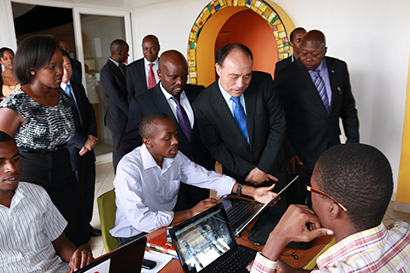 ITU Secretary General commends Rwanda's ICT advancement