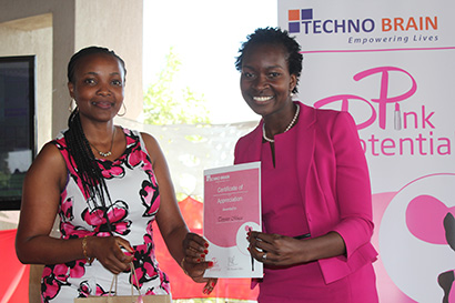 Airtel Kenya Head Of Airtel Money feted at  the annual IT women conference