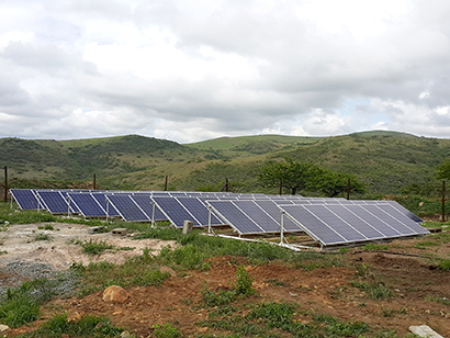 Schneider Electric solar systems power new SA game lodge construction