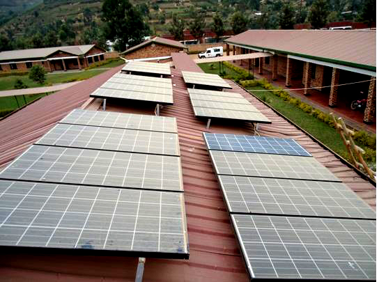 Rwanda's Rubaya Health Centre is already running solar power