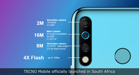 TECNO Mobile officially launched in South Africa