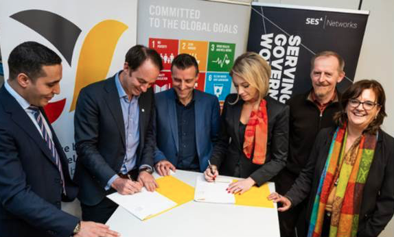 Belgian Development Agency Partners with SES to Connect Foreign Aid Projects in Africa via Satellite