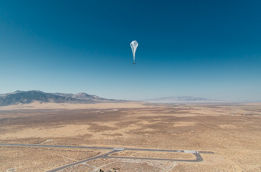 First Loon internet balloon spotted in Kenya