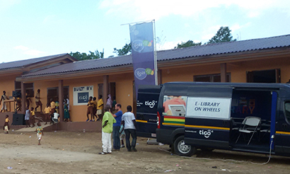Dimabi Community gets new school block from Tigo Ghana