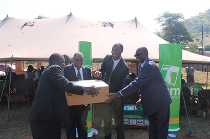 TNM equips youth NGO with ICT equipment