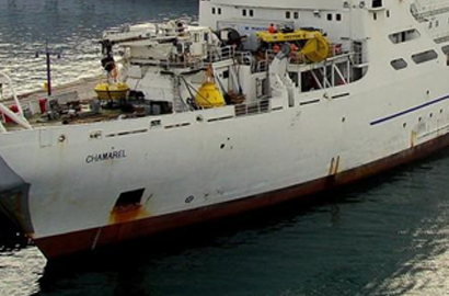 Orange cable vessel salvage under way