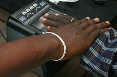 Ghana biometric voter reg underway