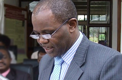 Tanzanian Science and Technology Minister Makame Mbarawa