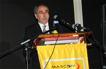 Mascom CEO Jose Couceiro