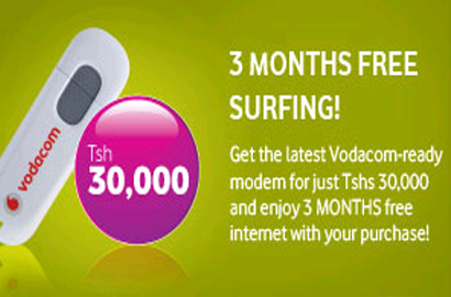 Vodacom Tanzania launches cut-rate data bundle