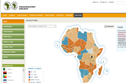 AfDB Open Data Platform now pan-African