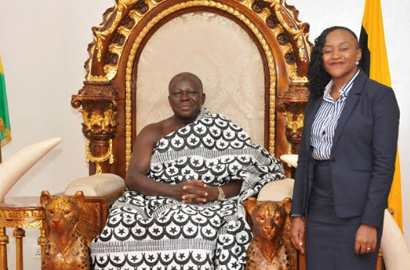 Asantehene lauds AirtelTigo for investing in education to improve lives in communities