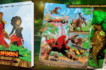 Kiro'o Games' Aurion coloured comic now available on Amazon