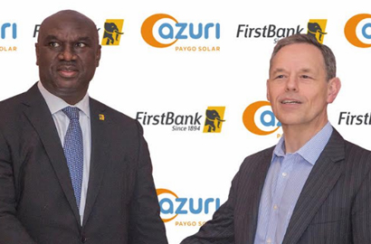 Image result for FirstBank, Azuri Technology Partners To Deepen Financial Inclusion In Nigeria