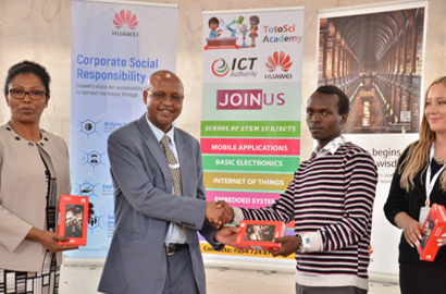 Kenya's Connected Summit birth tech skills project for street children