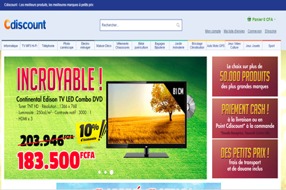 Cdiscount open for business in Cameroon