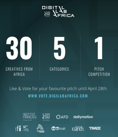 Vote for your favourite African creative in the DLA Online Pitch Competition