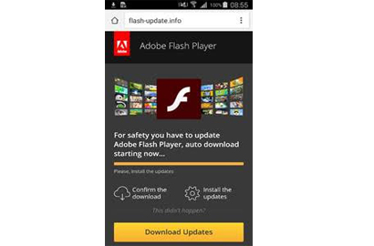 New Android downloader masquerades as Flash Player update