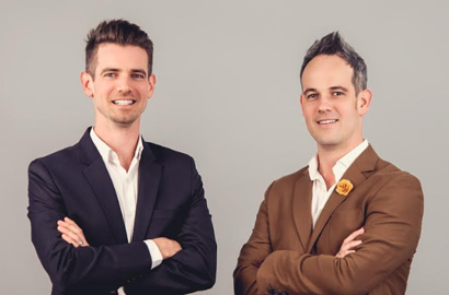 GetSmarter founders Rob and Sam Paddock