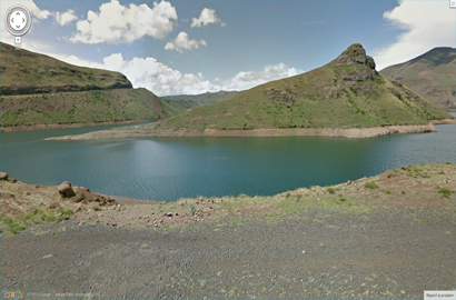 Lesotho now on Street View