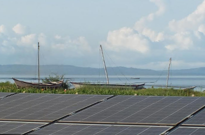EU, JUMEME inaugurate solar-powered mini-grid on Lake Victoria's Mulumo Island