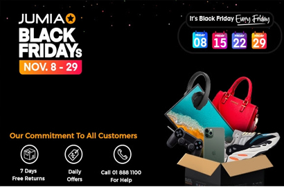 Black Friday: Jumia to attract a surge of new shoppers to further deepen e-commerce access