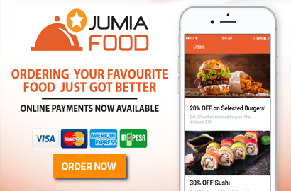 Jumia Food Launches Online Pre-Payments in Kenya and Uganda