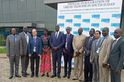 "Liquid Telecom connects South Sudan to ""One Africa"" broadband network and the world"