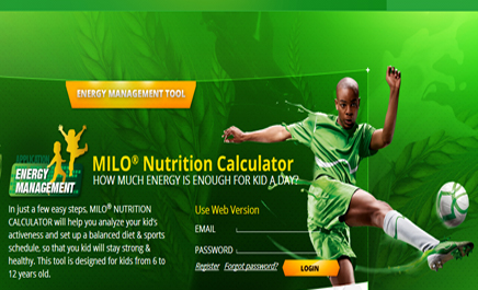 Online nutrition calculator aims to boost kids' health