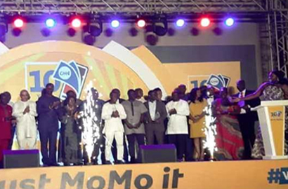 MTN Ghana honors stakeholders to climax MoMo @ 10 Anniversary Celebrations