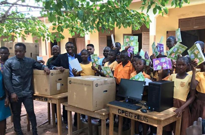 Microsoft Africa and others fulfills pledge to local Ghana ICT teacher