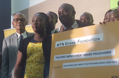 MTN Ghana empowers teachers with GHC 125,000 scholarship package