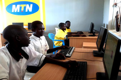 South Sudan school gets computer lab