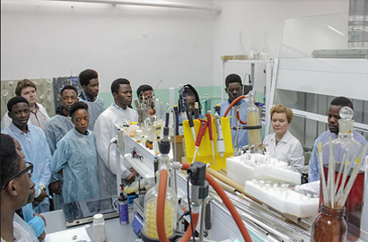 Students from Africa learn first-hand about the opportunities to study nuclear science in Russia