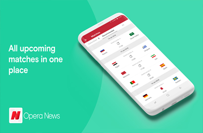 Opera News is shaking things up for the 2018 World Cup