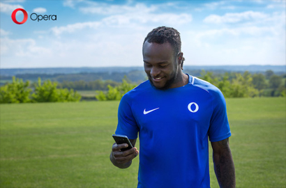 Opera announces Victor Moses as brand ambassador in Africa