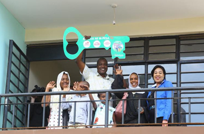 Engineer wins fifth M-PESA promo apartment