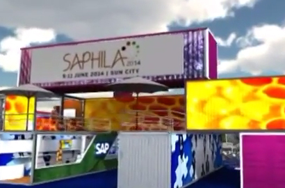 Custom built venue to wow Saphila 2014 delegates
