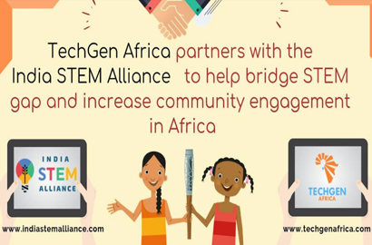 India STEM Alliance partners with TechGen Africa to help bridge STEM gap
