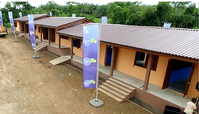 Obeng Yaw L/A School benefits from Tigo's Shelter 4 Education project