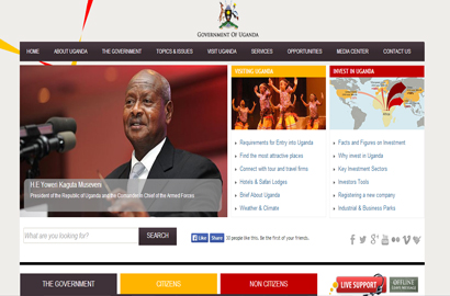 Uganda showcases new one-stop state portal