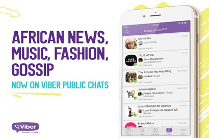 Viber launches public chats in Africa